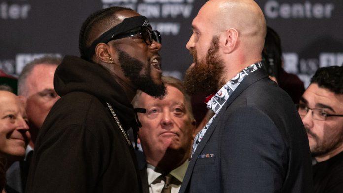 Deontay Wilder och Tyson Fury