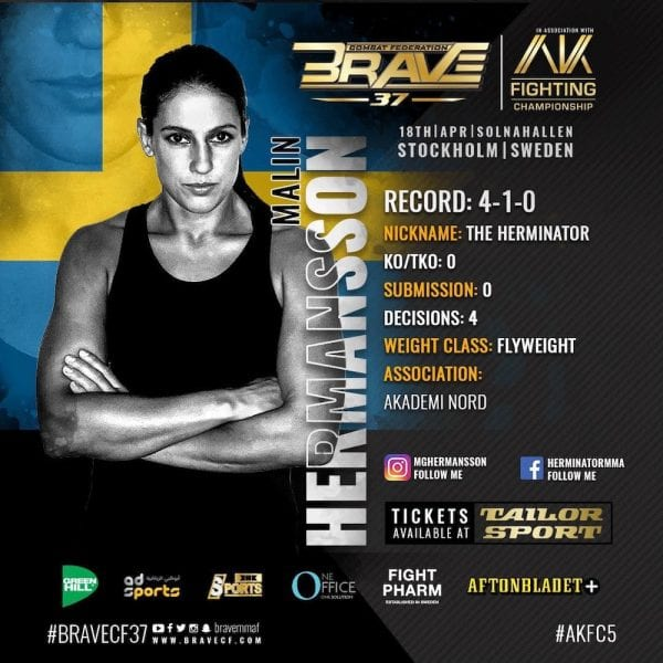 Malin Hermansson BRAVE