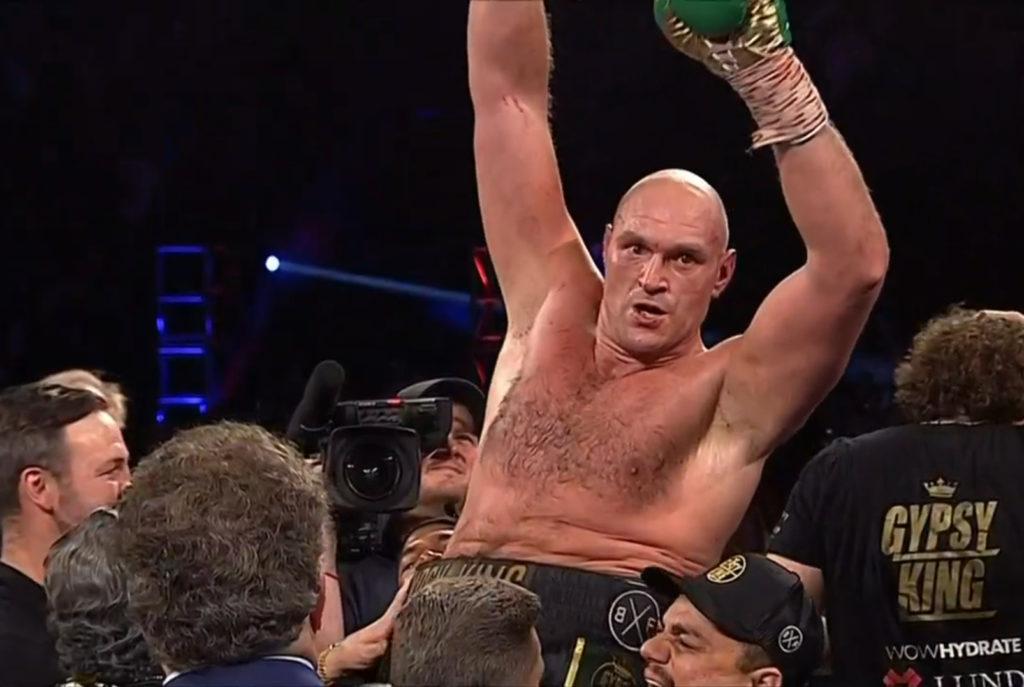 Tyson Fury i ringen