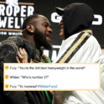 Tyson Fury vs Deontay Wilder 2 face-off