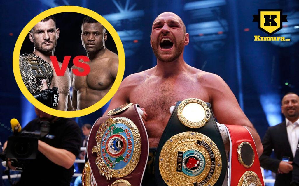 Tyson Fury utmanas av Francis Ngannou och Stipe Miocic