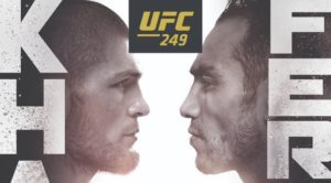 UFC 249 Khabib Nurmagomedov vs Tony Ferguson poster