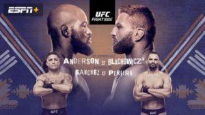 UFC New Mexico matchkort