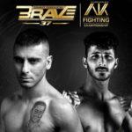 Brave CF AK Fighting Eli Elias Morteza Arabzadeh