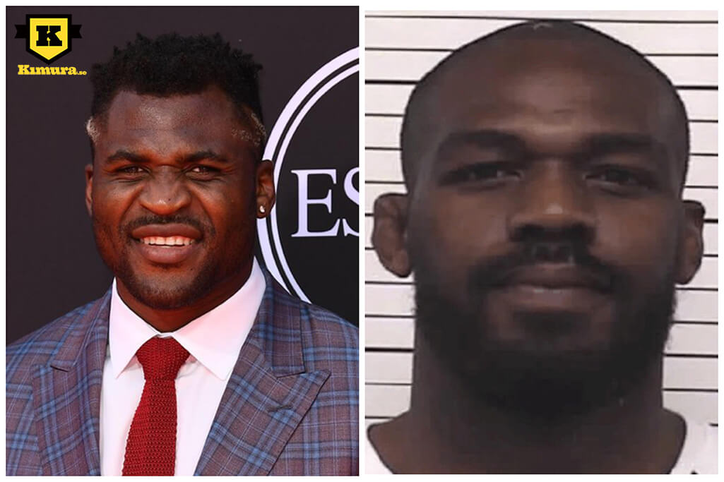 Francis Ngannou Jon jones