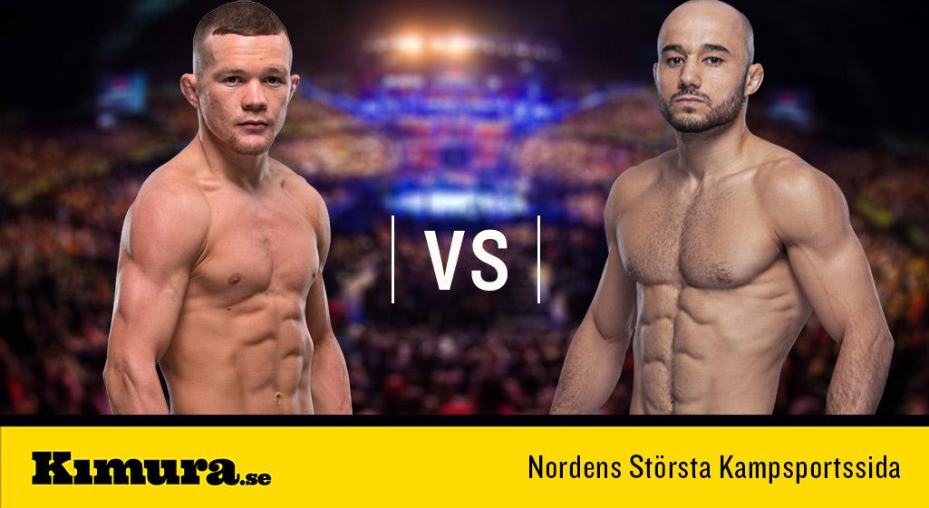 UFC Kazakstan Petr Yan ryktas möta Marlon Moraes