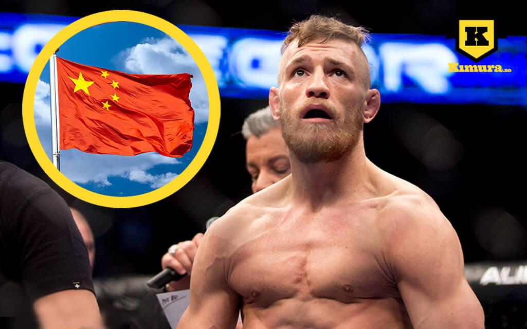Conor McGregor China