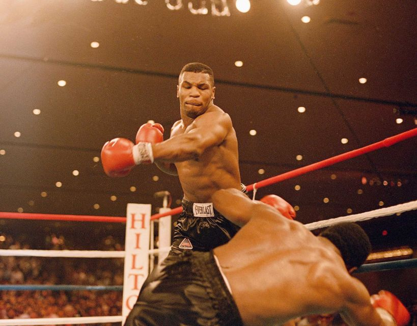 Mike Tyson i början av karriären