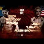 REZA MADADI VS JUNIE ALLEN BROWNING