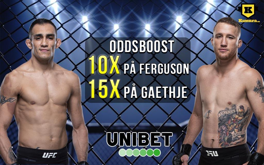 UFC 249 oddsboost