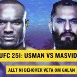 UFC 251 Kamaru Usman vs Jorge Masvidal all information