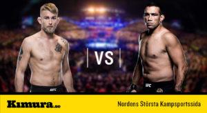 UFC Alexander Gustafsson vs Fabricio Werdum