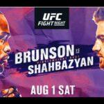Derek Brunson vs Edmen Shahbazyan