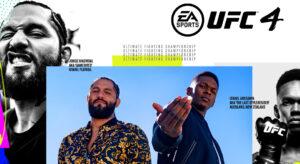 Omslaget till EA Sports UFC 4