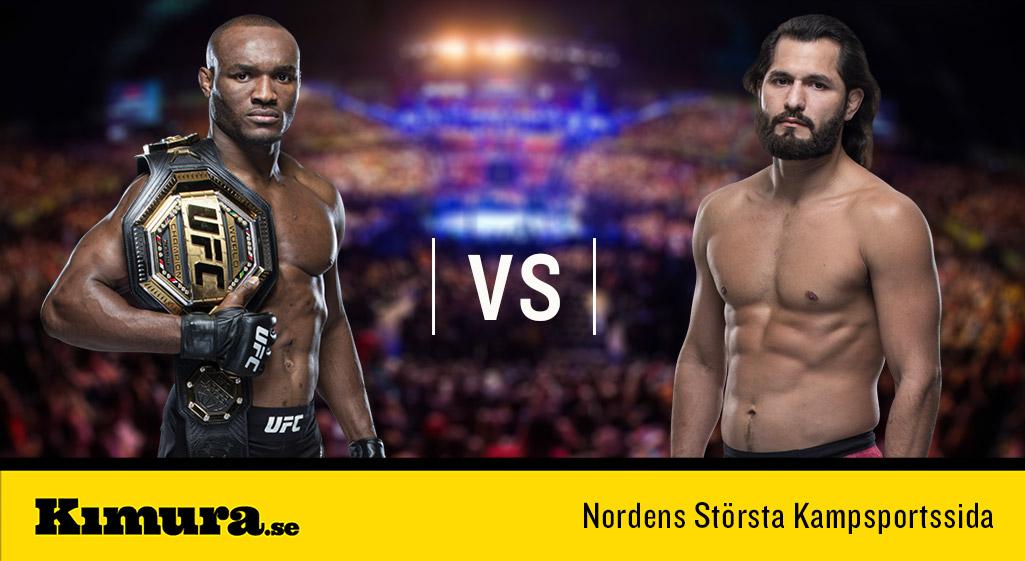 Jorge Masvidal vs Kamaru Usman UFC 251