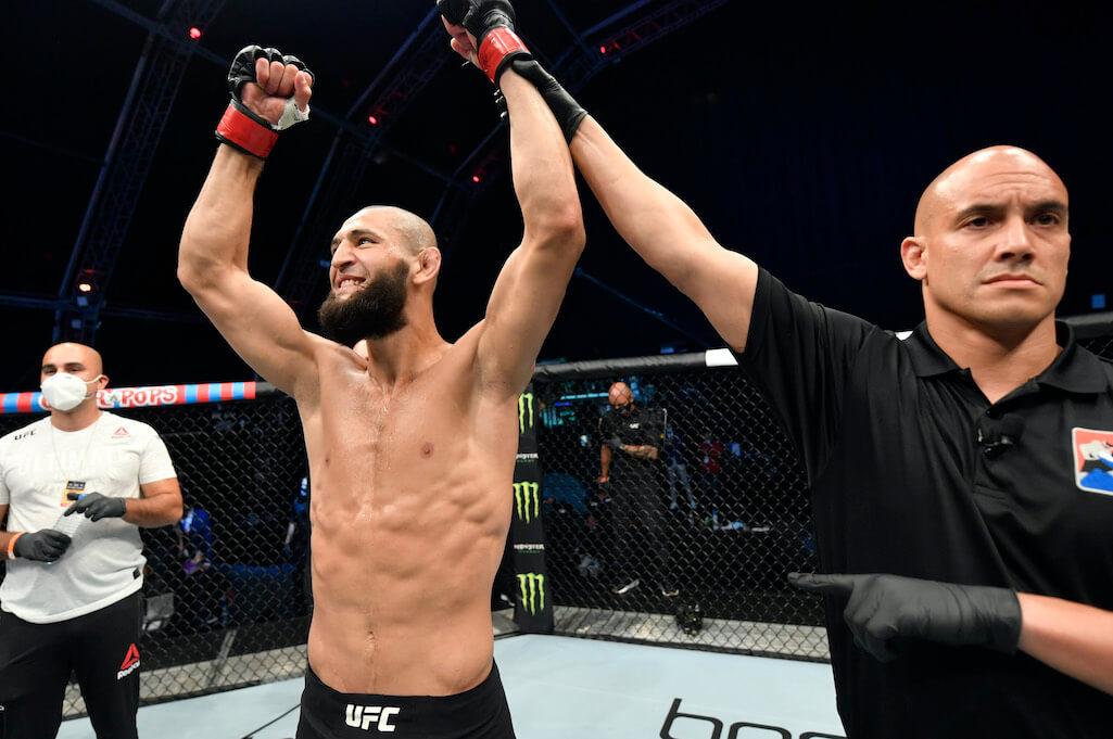 Khamzat Chimaev UFC vinst