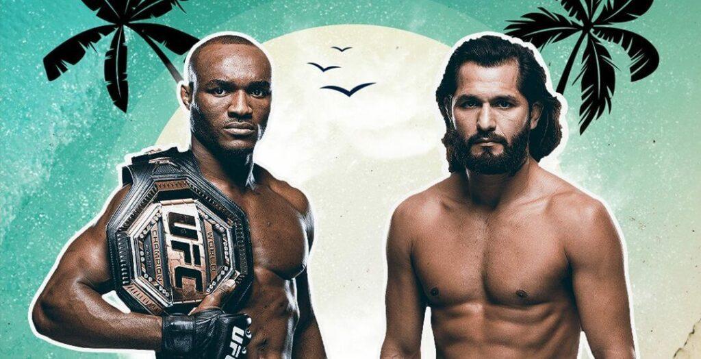 UFC 251 Fight Island Jorge Masvidal Kamaru Usman