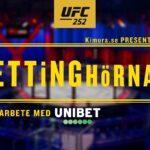 Bettinghörnan UFC 252