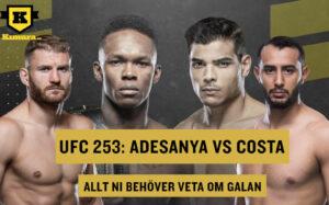 UFC 253 Allt inför