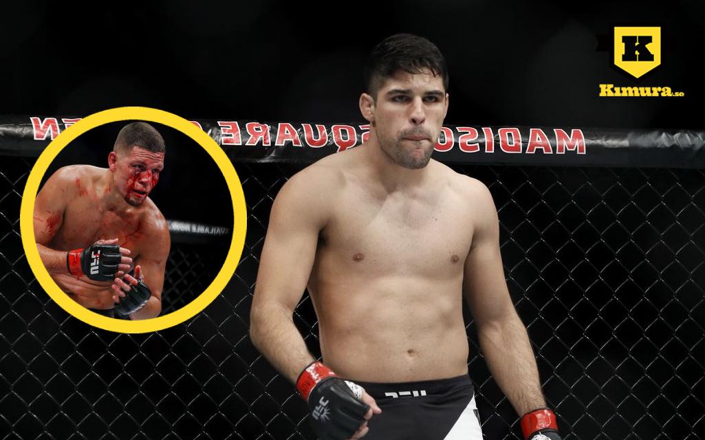 Vicente Luque och Nate Diaz