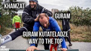Guram Kutateladze med Khamzat Chimaev