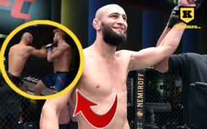 Khamzat Chimaev rekord knock