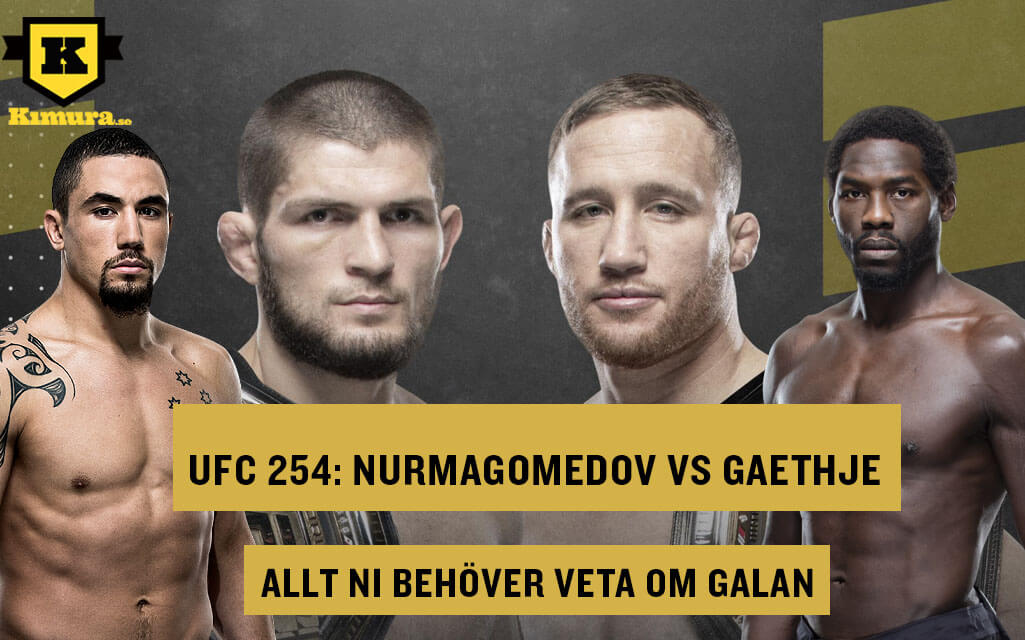 Allt inför UFC 254