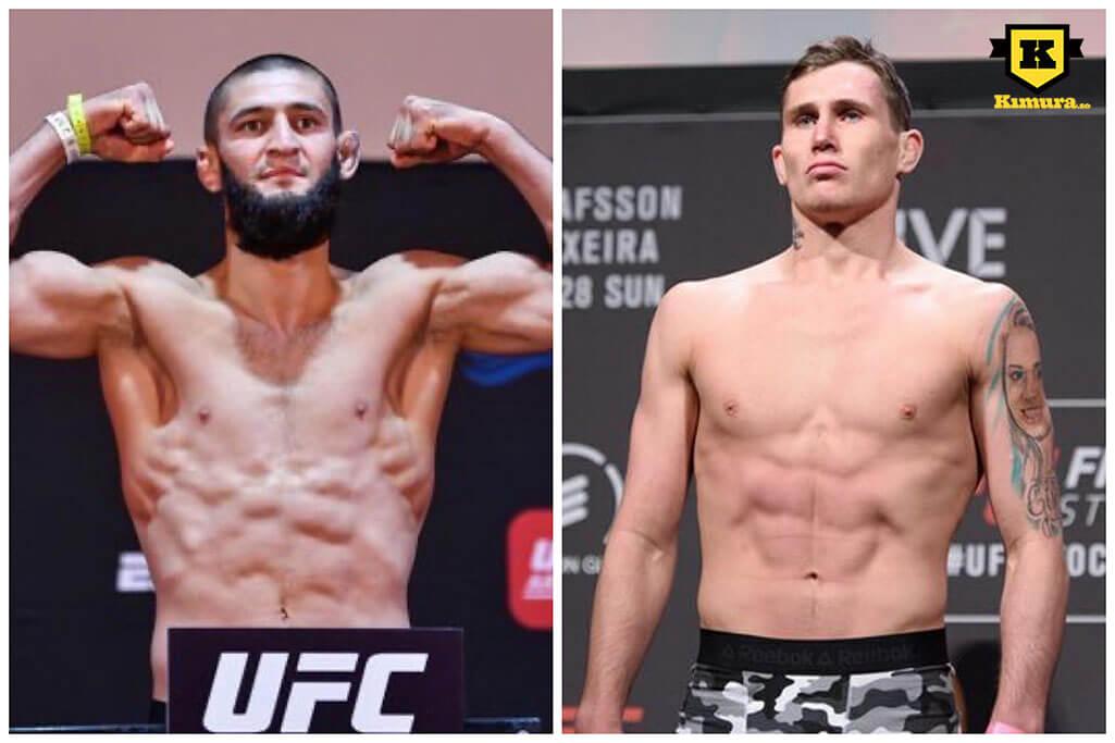 Khamzat Chimaev vs Darren Till