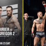 Conor McGergor vs. Dustin Poirier officiellt släppt av UFC