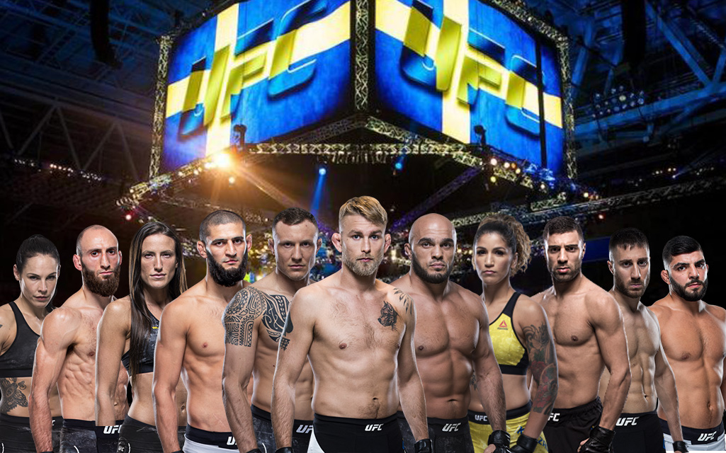 Alla Svenska UFC Fighters uppradade