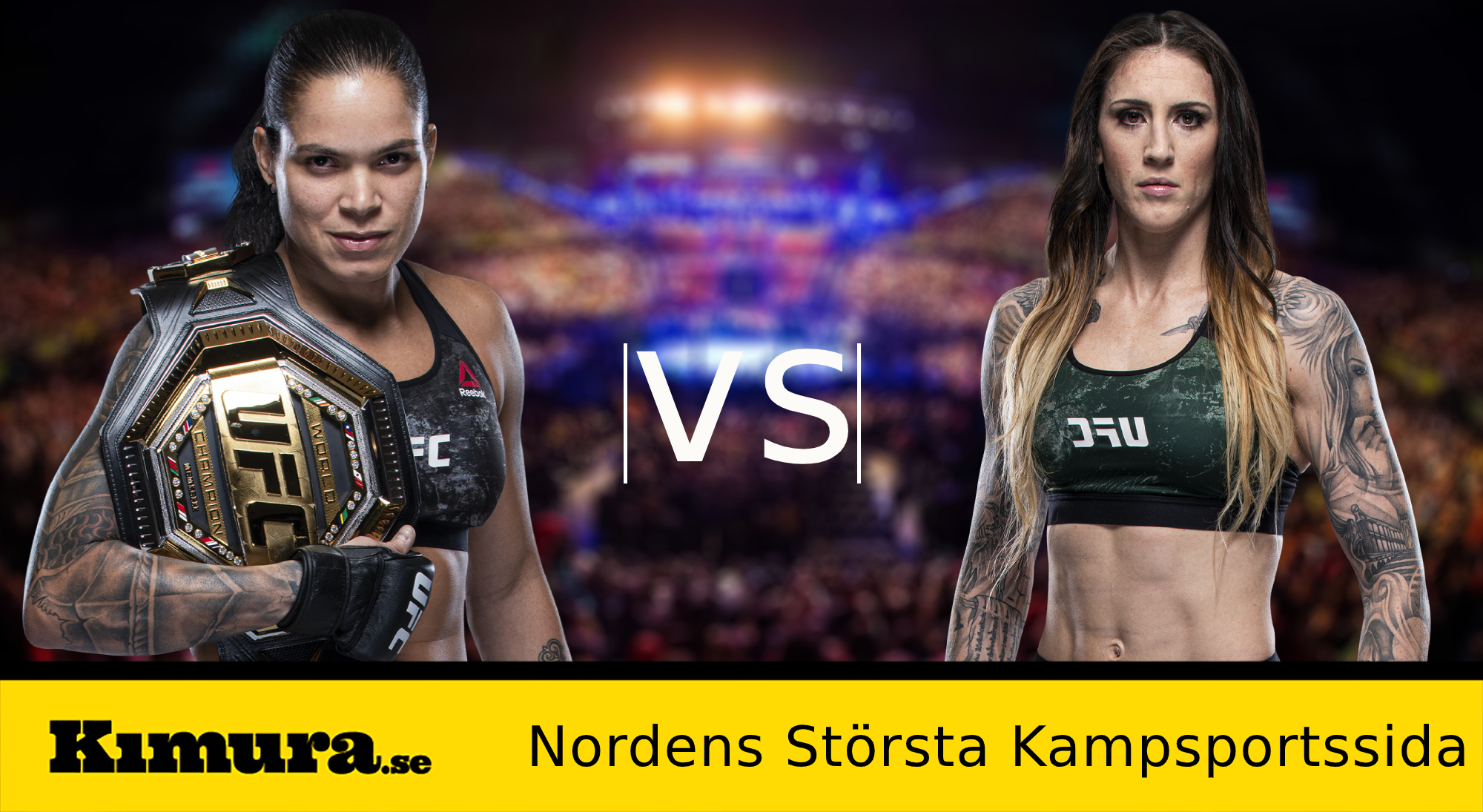 Amanda Nunes vs. Megan Anderson rapporteras till UFC 259