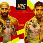 UFC 256 poster