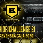 Superior Challenge 21 är Årets Svenska MMA-Gala 2020