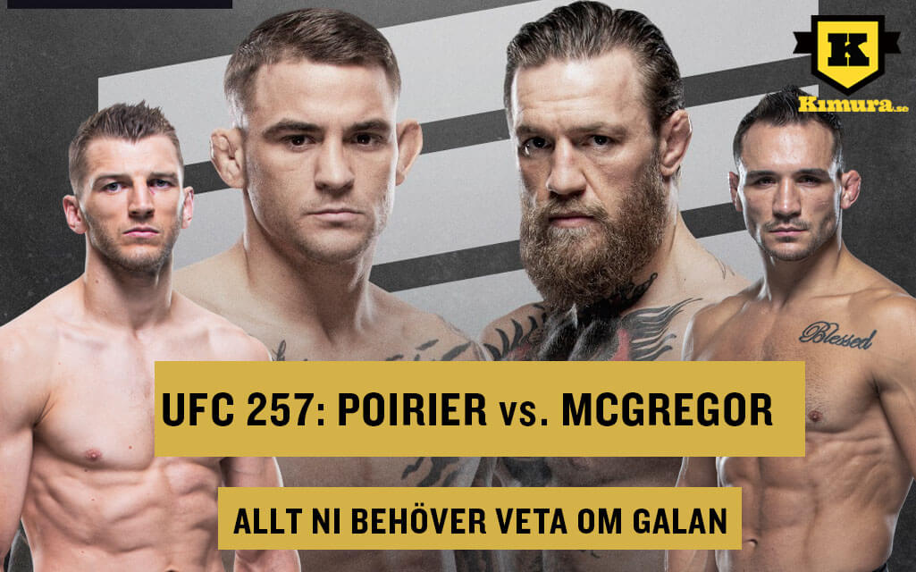 UFC 257 Conor McGregor Dustin Poirier