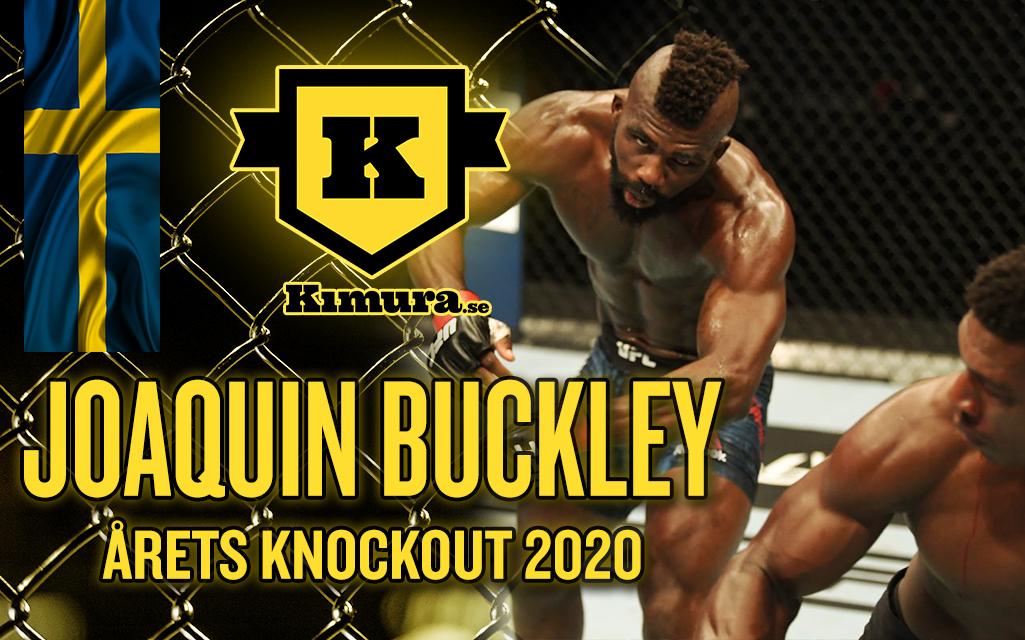 Joaquin Buckley vinner Årets Knockout 2020