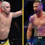 Charles Oliveira vs Justin Gaethje Fight Island