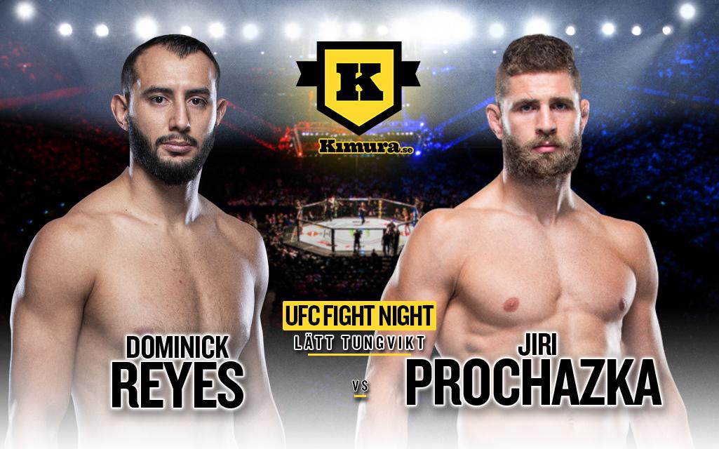 Dominick Reyes vs Jiri Prochazka