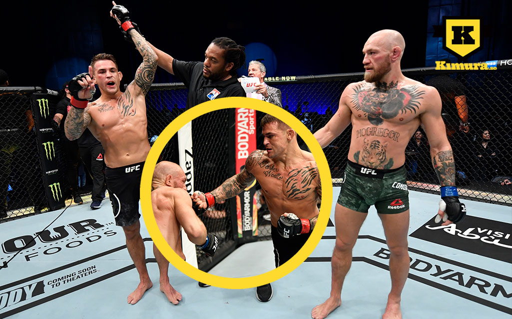 Dustin Poirier knockar Conor McGregor