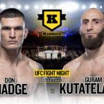 Guram Kutateladze vs. Don Madge