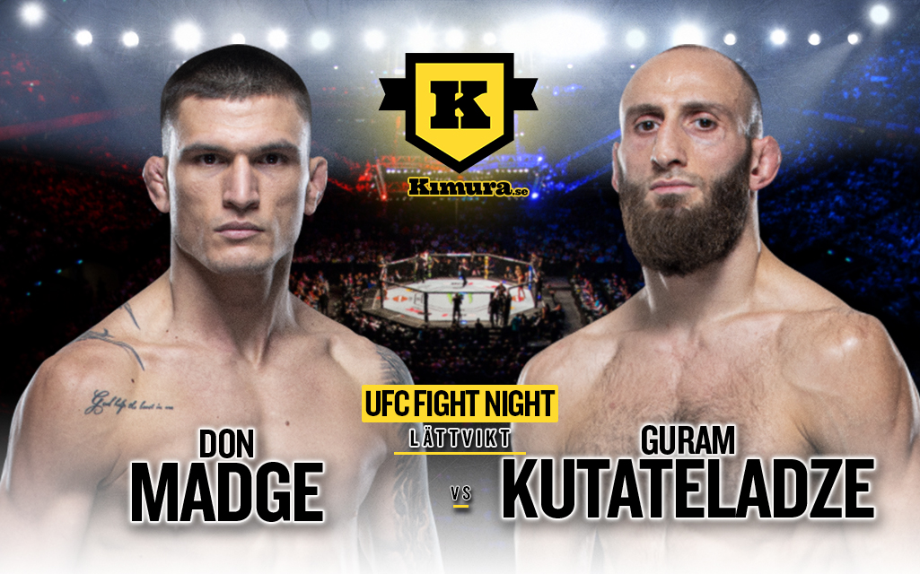 Guram Kutateladze vs. Don Madge