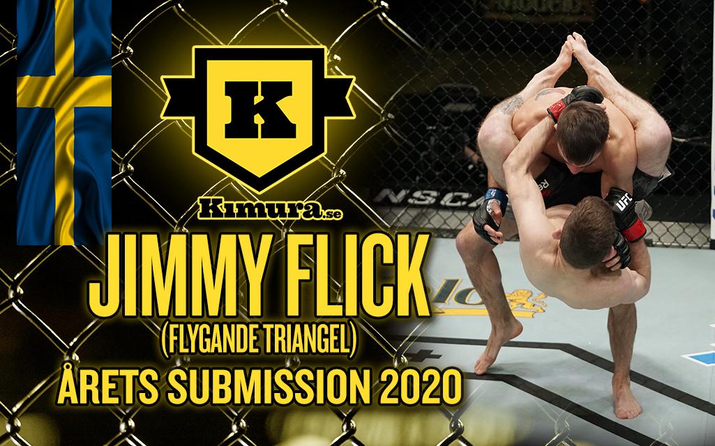 Jimmy Flick vinner Årets Submission 2020