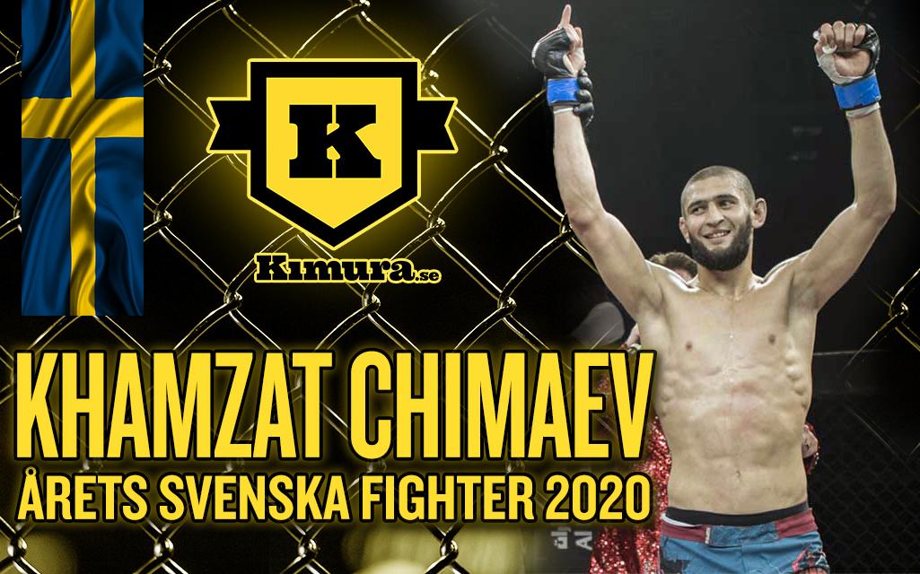 Khamzat Chimaev utsedd till Årets Svenska Fighter 2020