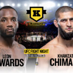 Khamzat Chimaev vs. Leon Edwards