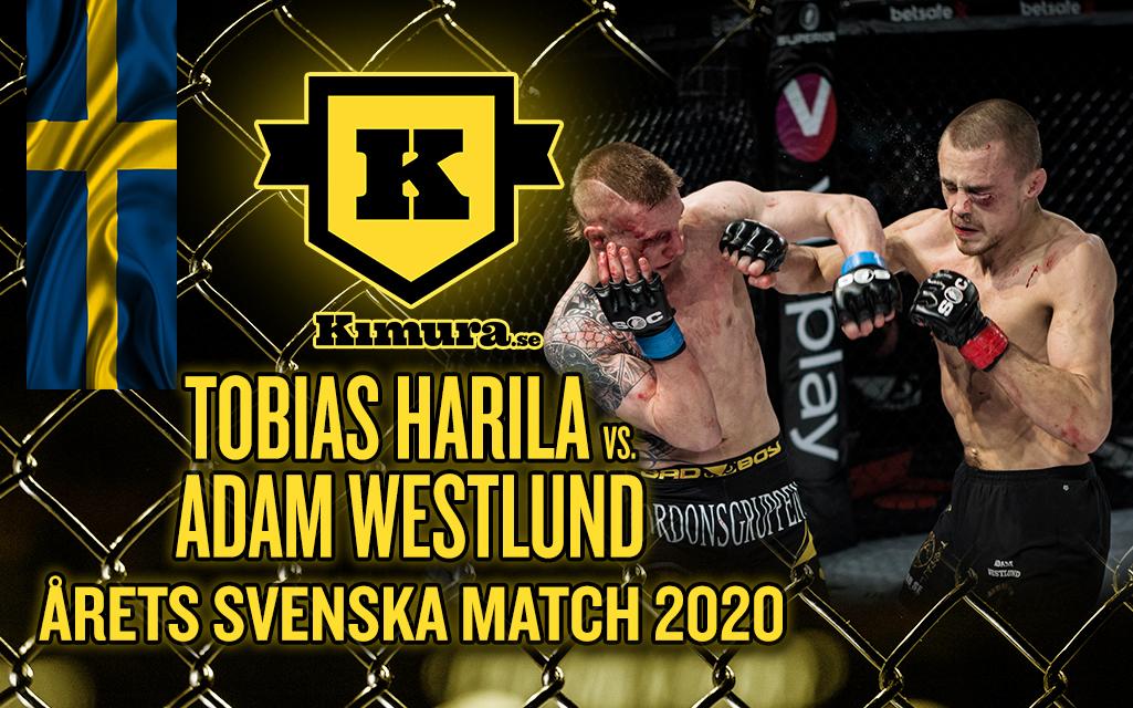Tobias Harila vs. Adam Westlund utsedd till Årets Svenska Match 2020