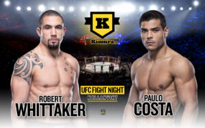 Robert Whittaker vs. Paulo Costa UFC Fight Night