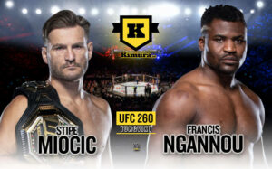 Stipe Miocic vs Francis Ngannou UFC 260