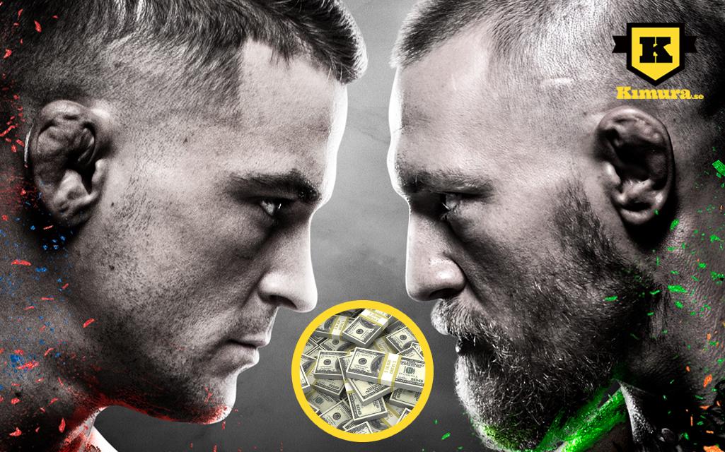 UFC 257 PPV tjänar stora Intäkter
