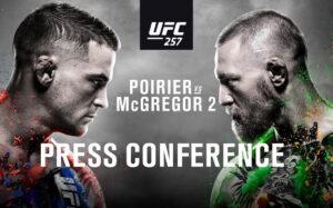 Bild inför Presskonferensen till UFC 257