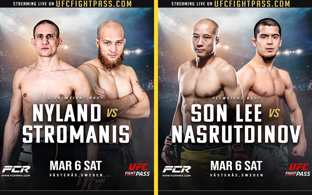 Binh Son Le vs Abdurahman Nasrutdinov - Geir Kåre Nyland vs Rahman Stromanis Fight Club Rush 8 Poster