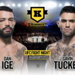 Dan Ige vs. Gavin Tucker UFC Vegas 21